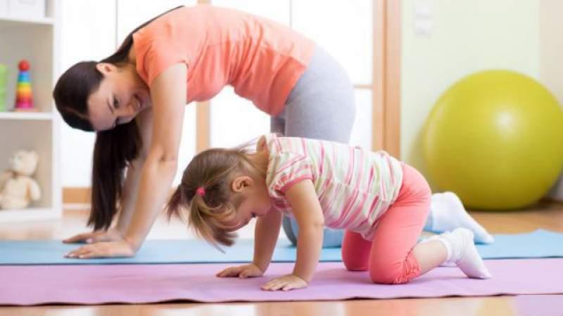 8 تمرينات رياضية للأطفال في المنزل